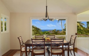 Equity residences kauai dining room view