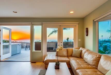 Pacific Ocean Overlook - San Diego, California