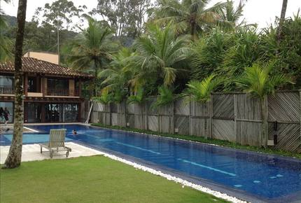 Canto do Moreira Balinese Style Beach Home - Maresias, Brazil