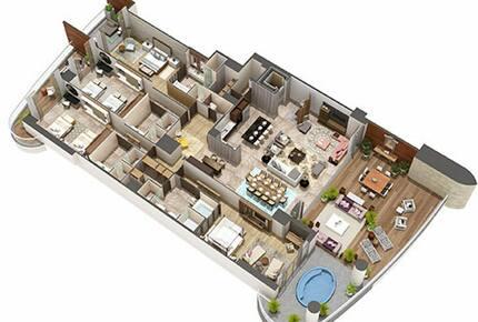 Luxxe Chairman's Villa - 4 Bedroom Residence - Nuevo Vallarta, Mexico