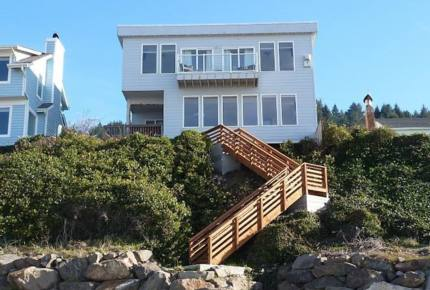 Oceanfront Oregon Home