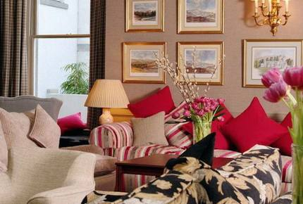 A Junior Suite at The Marcliffe Hotel and Spa - Aberdeen, United Kingdom