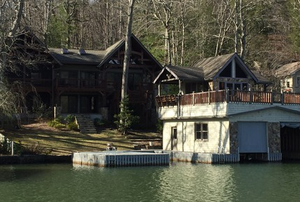 Lake Burton Boat House - Rabun County, Georgia