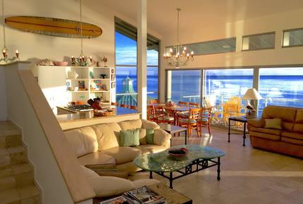 Stunning Beachfront House on Magnificent West Malibu Cove