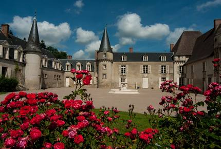 Chateau de Lalande - Crozon sur Vauvre, France