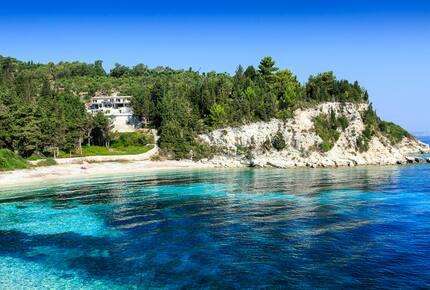 Kipos Beach Villa - Loggos, Greece