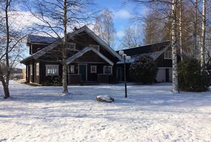 Swedish Ski Chalet and Lake House