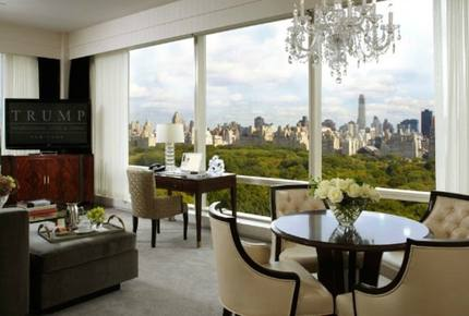 Trump International Hotel and Tower - 2 Bedroom Residence - Park View Corner Suite, Top Floor