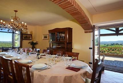 Villa Pulciana - Citta'di Pieve - Perugia, Italy
