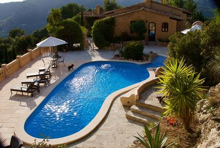 Authentic Mallorcan Mountain Top Villa Paradise