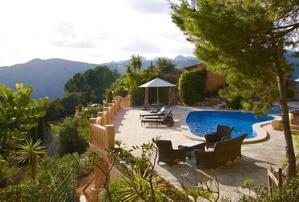 Authentic Mallorcan Mountain Top Villa Paradise