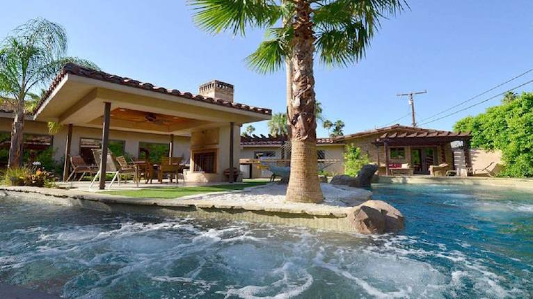 Warm Sands Estate With Lazy River 4 Night Stay Palm Springs California Thirdhome
