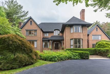 Washington DC English Manor Home
