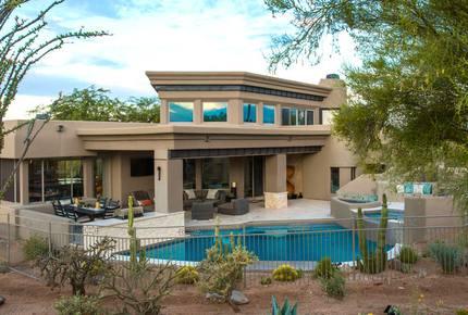 Contemporary Desert Mountain Home
