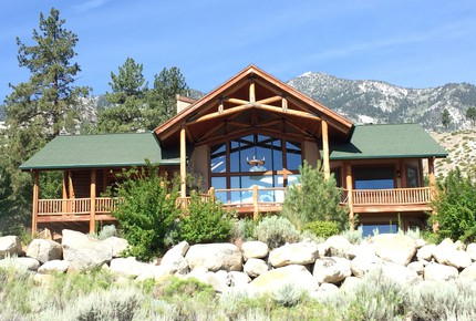 Tahoe Nevada Log Home