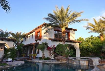 Private Lake Front Spanish Hacienda - Indio, California
