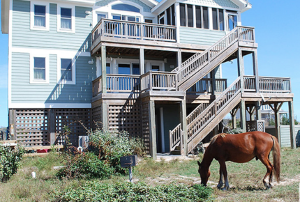 Stargazer Oceanside Home in Carova Beach - Outer Banks