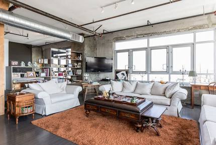 Barker Block Downtown Penthouse - Los Angeles, California