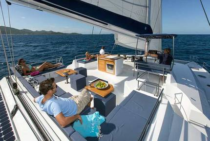 TradeWinds 70ft 5 Cabin Crewed Catamaran Flagship Class – Antigua Sailing Vacation - Jolly Harbour, Antigua And Barbuda
