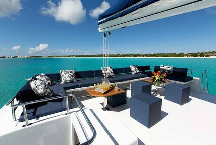 TradeWinds 70ft 5 Cabin Crewed Catamaran Flagship Class – Antigua Sailing Vacation