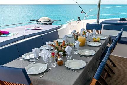 TradeWinds Yacht Cabin for 2  – Antigua Sailing Vacation