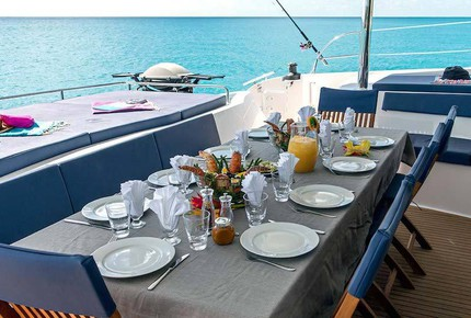 TradeWinds 70ft 5 Cabin Crewed Catamaran Flagship Class – St. Vincent and The Grenadines Sailing Vacation