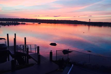 Waterfront Mystic River - Mystic, Connecticut