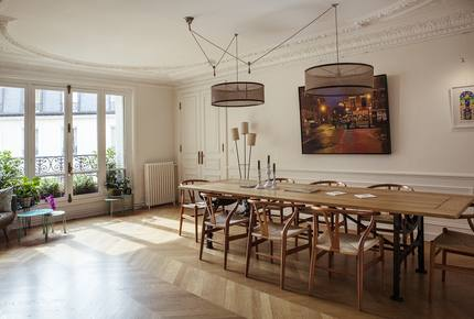 Elegant 5-bedroom Apartment by Luxembourg Gardens - Paris, France