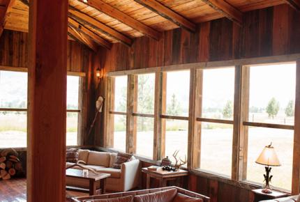 Frank Lloyd Wright Montana compound - Alpine Meadows Ranch - Darby, Montana