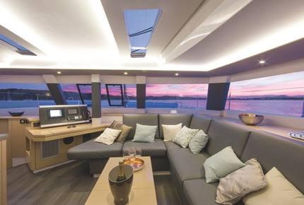 TradeWinds 52ft 5 Cabin Crewed Catamaran Cruising Class - Guadeloupe Sailing Vacation