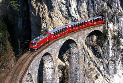 CURATED ROMANCING THE RAILS - The Grand Train Tour, Switzerland