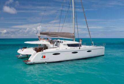 TradeWinds 59' 5-Cabin Crewed Catamaran Luxury Class – British Virgin Islands Sailing Vacation