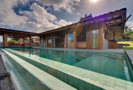 Luxury Wood Teak Villa