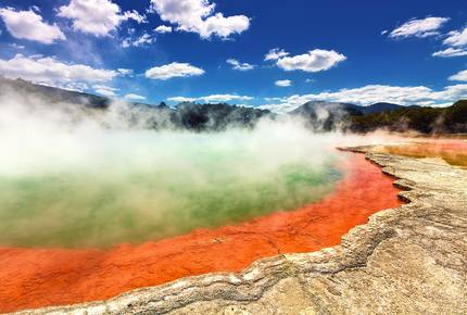 CURATED ECO EXPLORINGS - Middle Earth Geothermal Wonderland, New Zealand