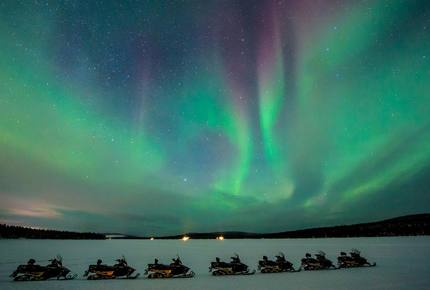 CURATED GLAMPING THE NIGHT AWAY - Ice Snowcastles & Reindeer, Sweden