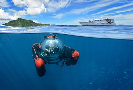 CURATED AQUATIC VOYAGES - SAIL WITH JEAN-MICHEL COUSTEAU, Virgin Islands, British
