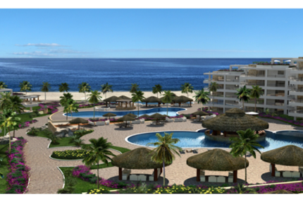 Diamante Ocean Club Residences - Two Bedroom Emerald Suite
