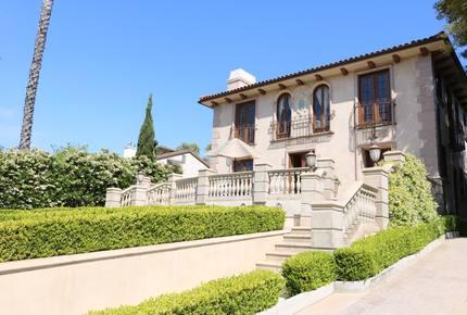 French Chateau in Santa Monica