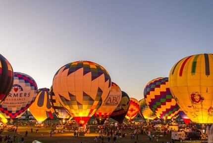 EXCLUSIVE STAY EXPERIENCE - Santa Fe Balloon Fiesta, New Mexico