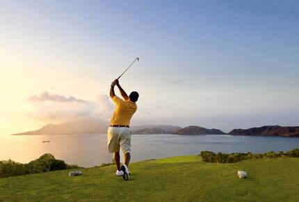 CURATED SPORTING LIFESTYLES - Golfing the Islands by Mega Yacht, Caribbean
