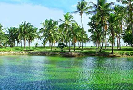 Beach Front Property in Villa Oberoi Resort -Santo Andre - Bahia