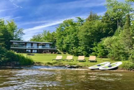 Modern Lakeside Luxury