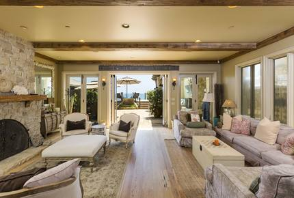 Malibu Colony Beachfront Home - Malibu, California