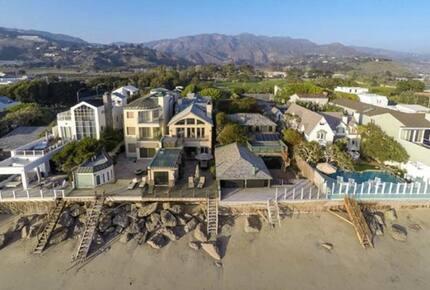 Malibu Colony Beachfront Home