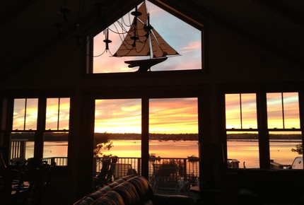Martha's Vineyard Waterfront Sunsets