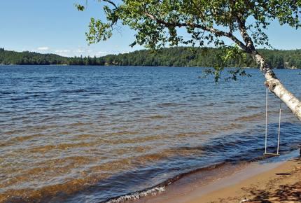 Mountain Lake - Beach Front