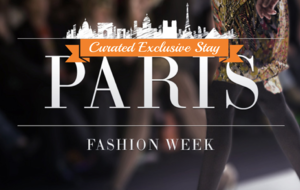 Chic in Paris Fashion Week, France