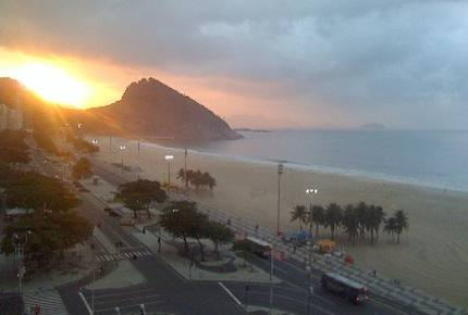 Beach Front Property in Copacabana
