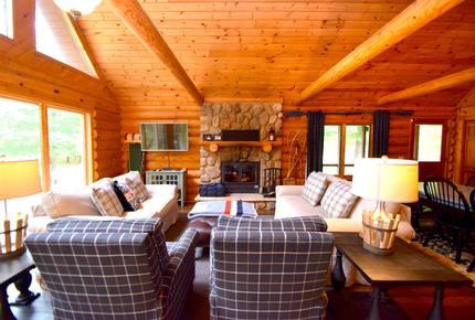 Lake Little Bear Log Home