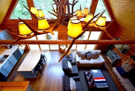 Lake Little Bear Log Home - Webb Lake, Wisconsin
